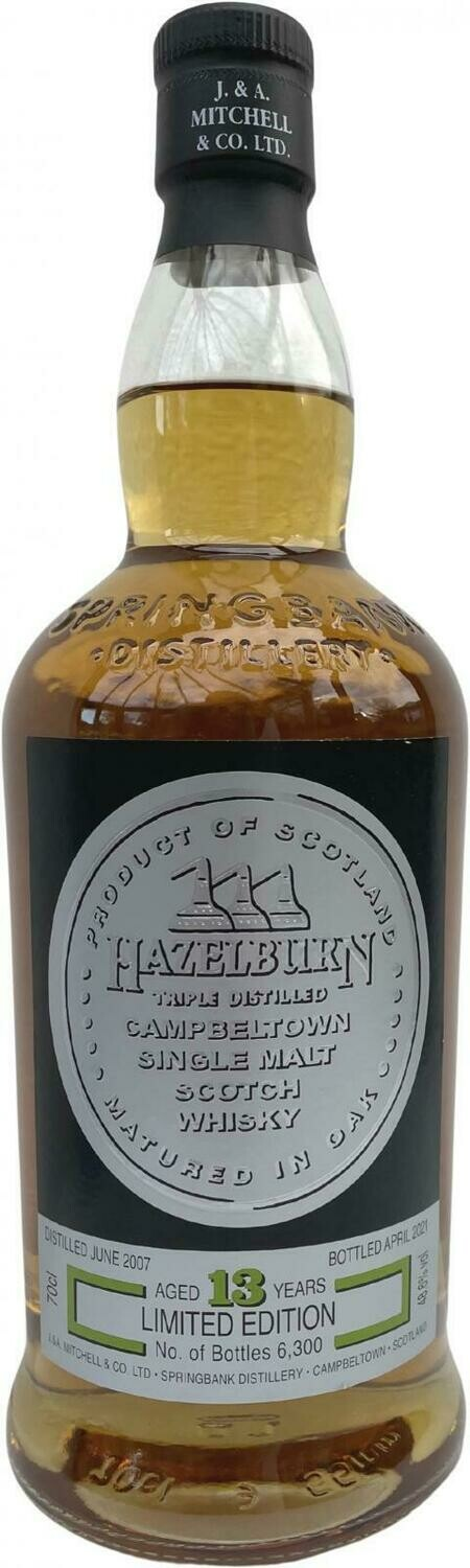 Hazelburn 13 Years Limited Edition 48.6% 70CL
