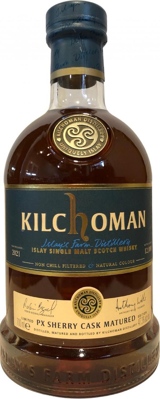 Kilchoman PX Sherry Cask Matured 2021 47.3% 70CL