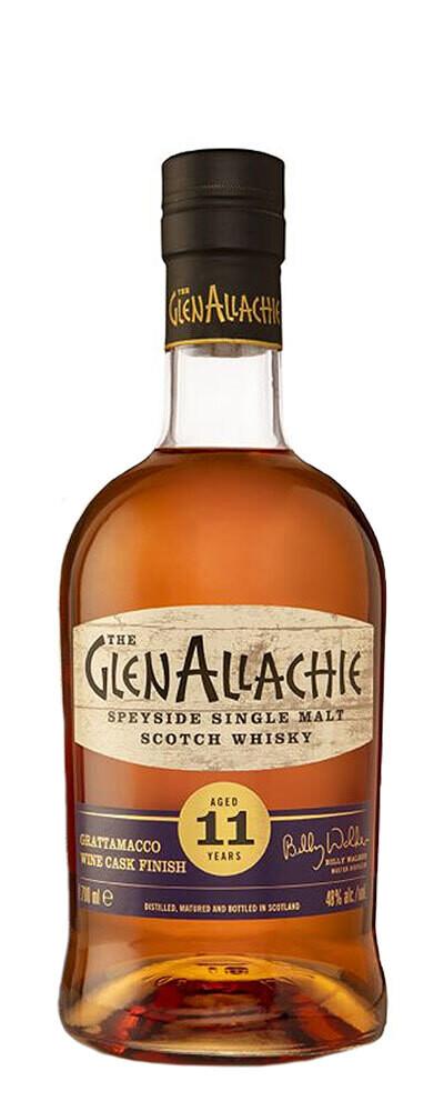 GlenAllachie Wine Series Grattamacco Wine Cask Finish 11 Years 48% 70CL