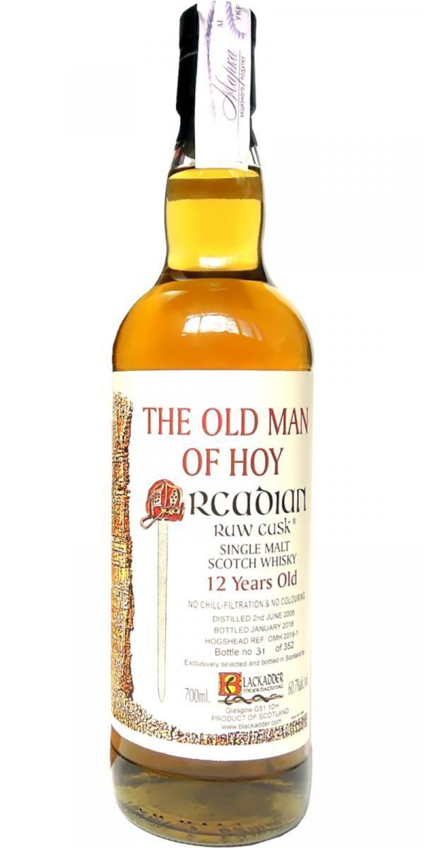 The Old Man Of Hoy Orcadian Black Adder 60.7% 70CL
