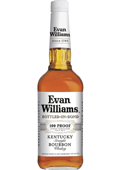 Evan Williams Bottled-In-Bond 100 Proof 50% 70CL