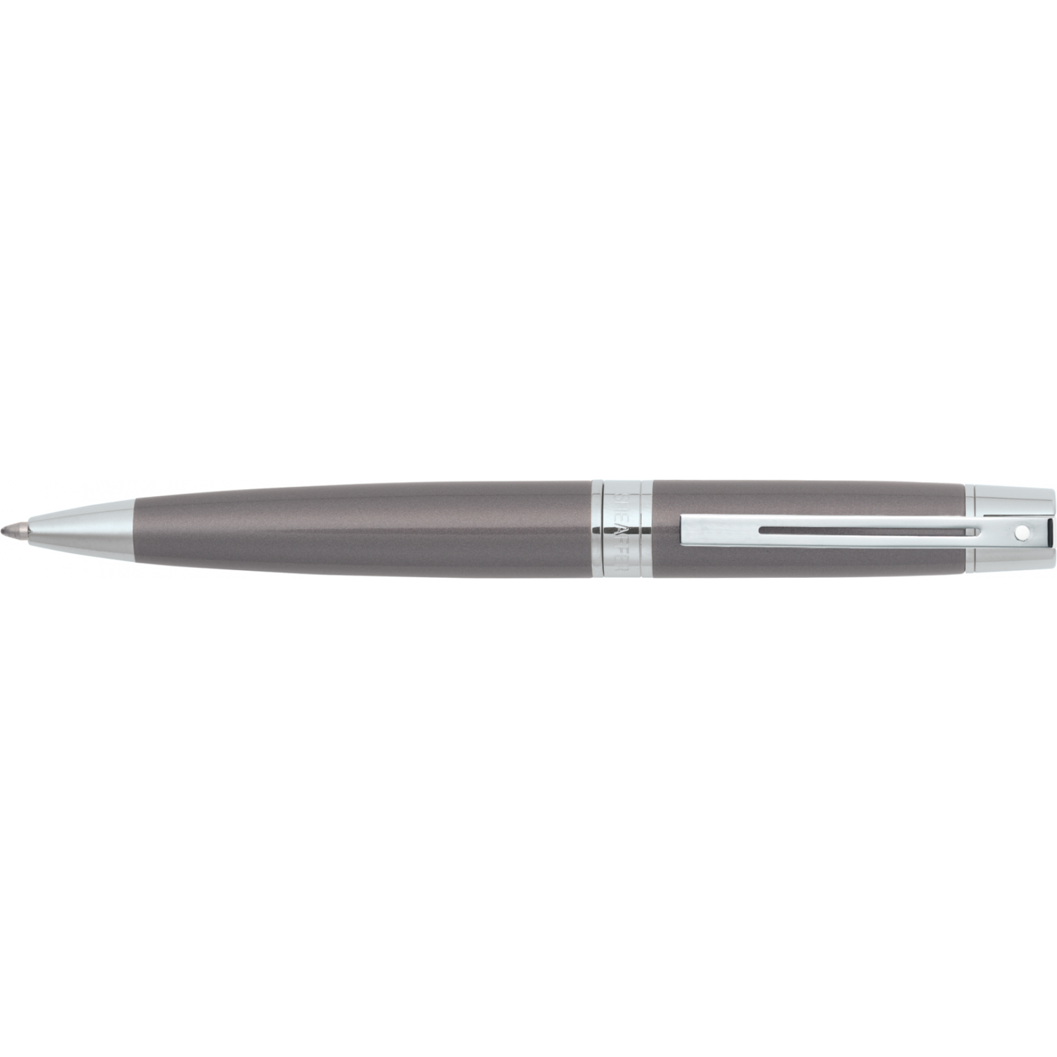 Sheaffer 300 balpen  metallic grey