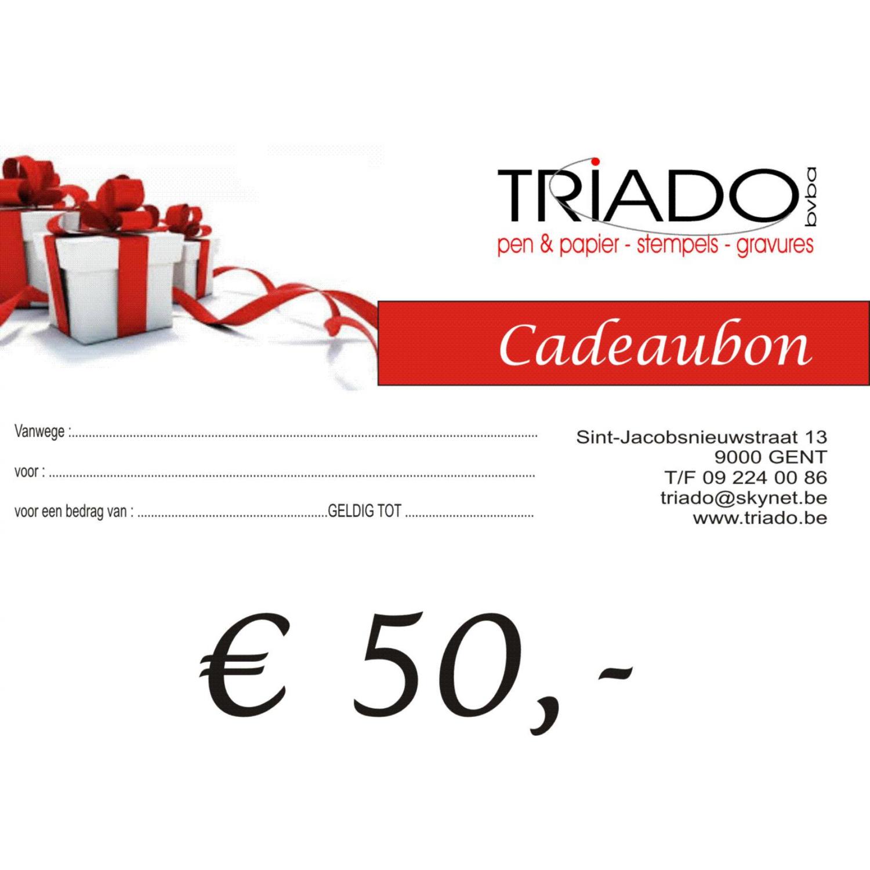 triado Cadeaubon € 50,-