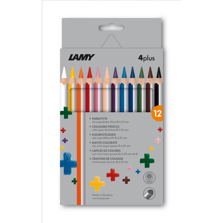 Lamy Kleurpotloden 4 PLUS 12 stuks