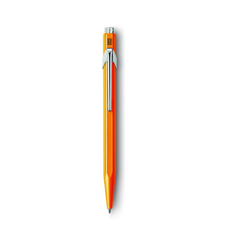 Caran d'Ache Balpen  849 fluo oranje
