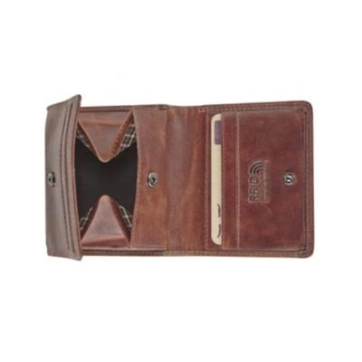 Maverick Geldbeugel/portefeuille DALIAN II pocket bruin