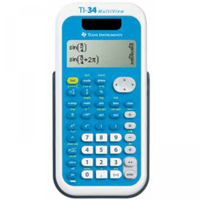 Texas Instruments Rekenmachine TI-34 multivieuw