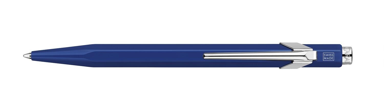 Caran d'Ache 849 balpen  METAL-X met etui blauw