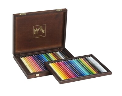 Caran d'Ache Kleurpotloden Artis Supracolor woodbox 80 stuks