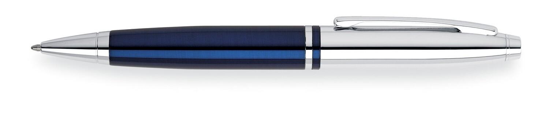 Cross Balpen  CALAIS CHROME Blue lacque