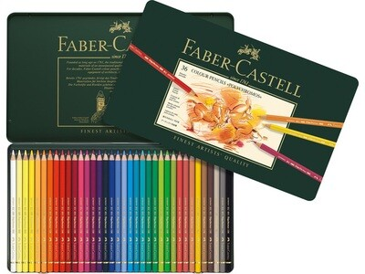 Faber Castell POLYCHROMOS kleurpotloden 36 stuks