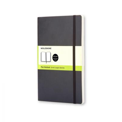 Moleskine notebook pocket zwart soepele  kaft effen