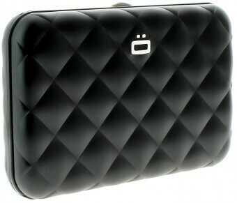 Ögon Creditcardhouders QUILTED black