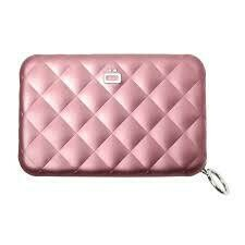 Ögon Creditcardhouders model QUILTED ROZE
