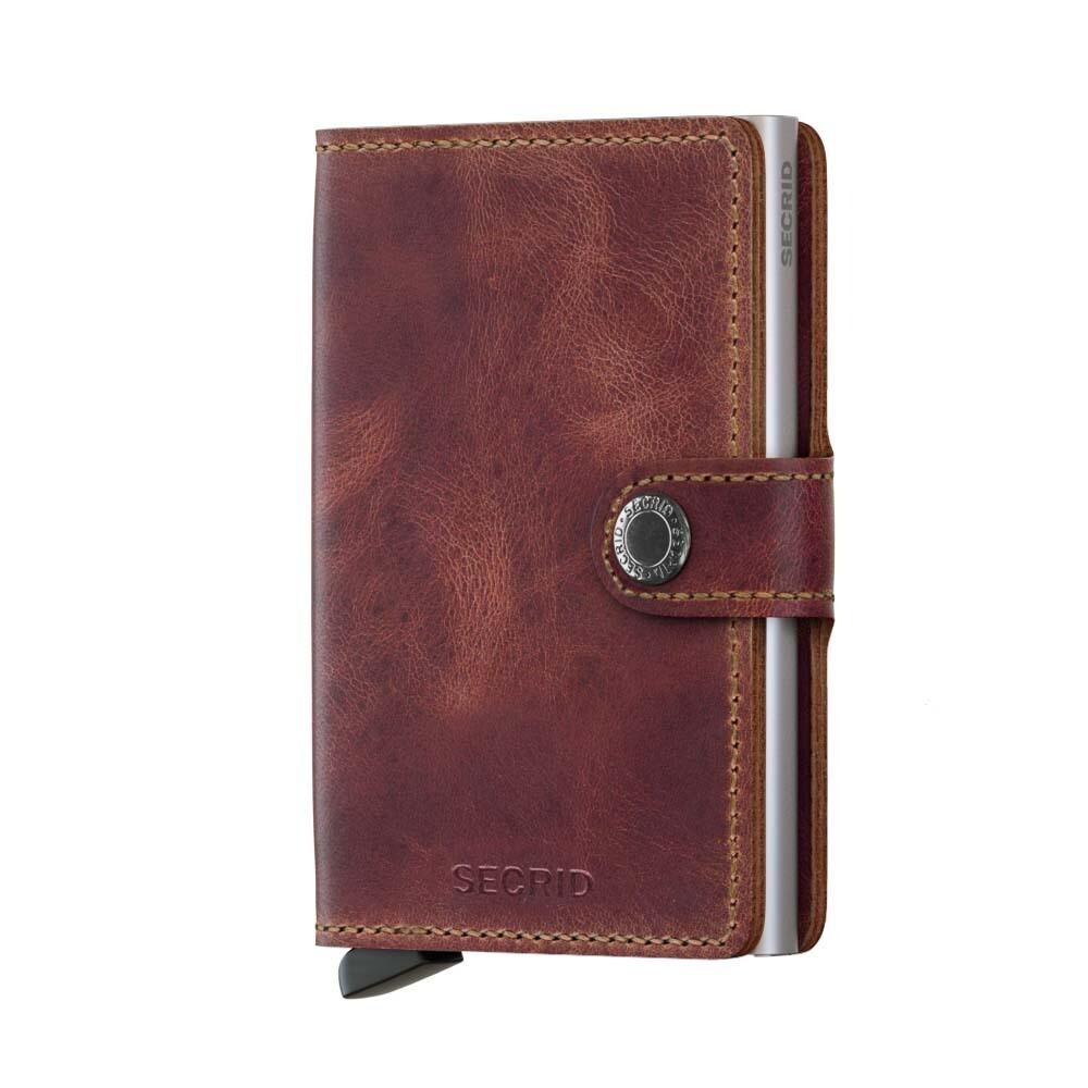 Secrid Creditcardhouders miniwallet vintage brown