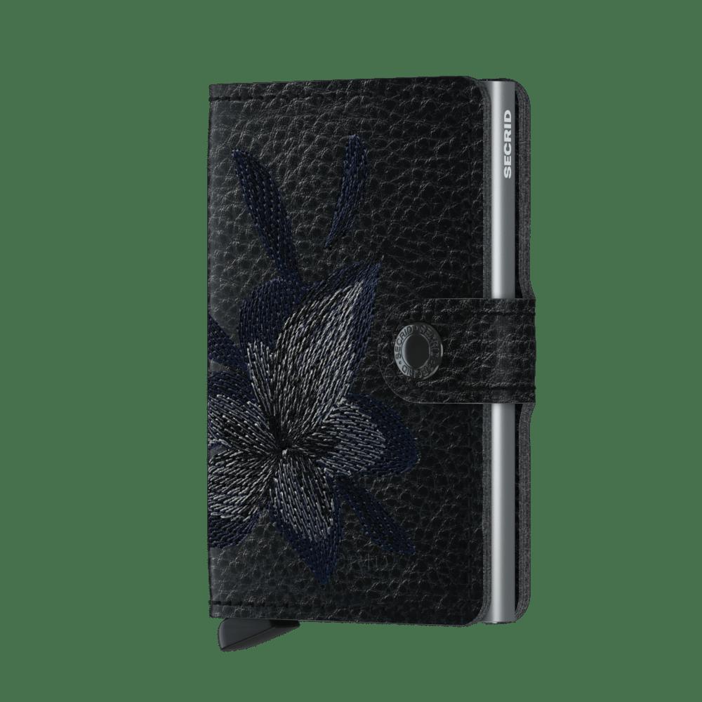 Secrid miniwallet stitch Magnolia black (new)