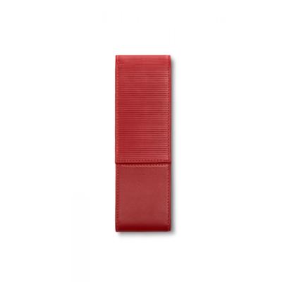 Lamy Leder pen etui  rood voor 2 pennen