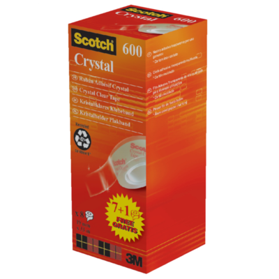 Scotch crystal tape 600