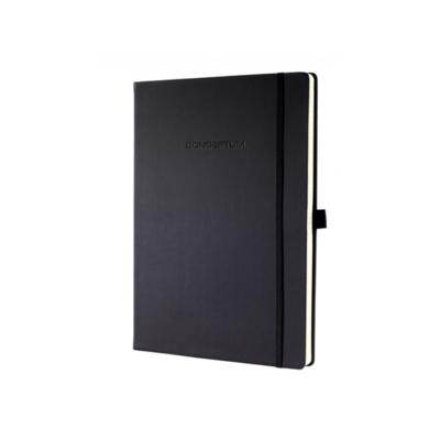 SIGEL notitieboek Conceptum PURE zwart A4 geruit