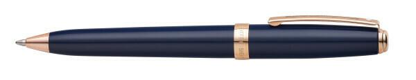 Sheaffer PRELUDE balpen COBALT BLUE LAK ROSE GOLD TRIM
