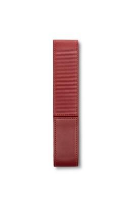 Lamy Lederen pen etui voor  1 pen  rood