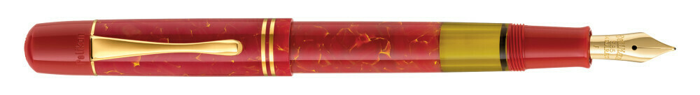 Pelikan Vulpen 101N BRIGHT RED fijn