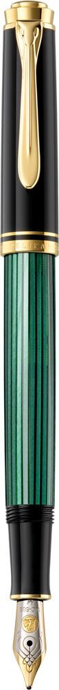 Pelikan Vulpen M300 Souverän premium groen/zwart  fijn