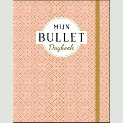 Deltas BULLET dagboek met DOTS  oudroze