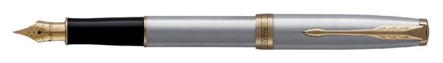 Parker Vulpen SONNET stainless steel GT Medium penpunt