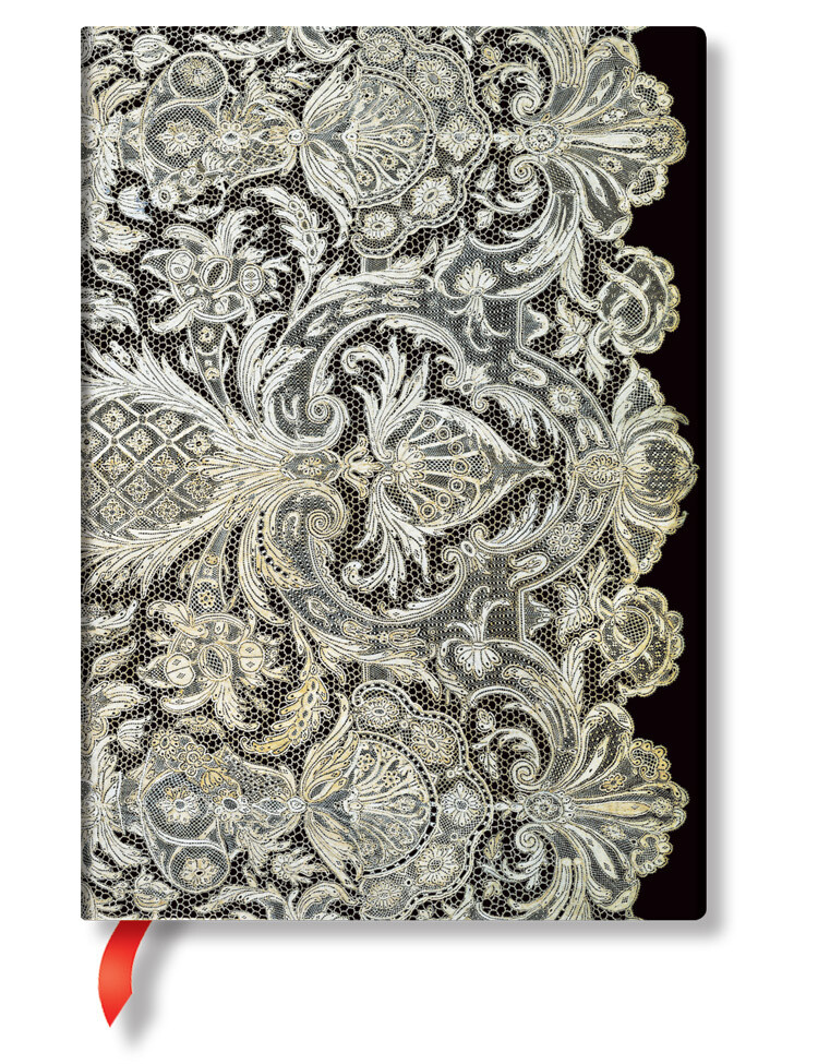 Paperblanks LACE ALLURE  ULTRA 180X230 mm 144 pag blanco