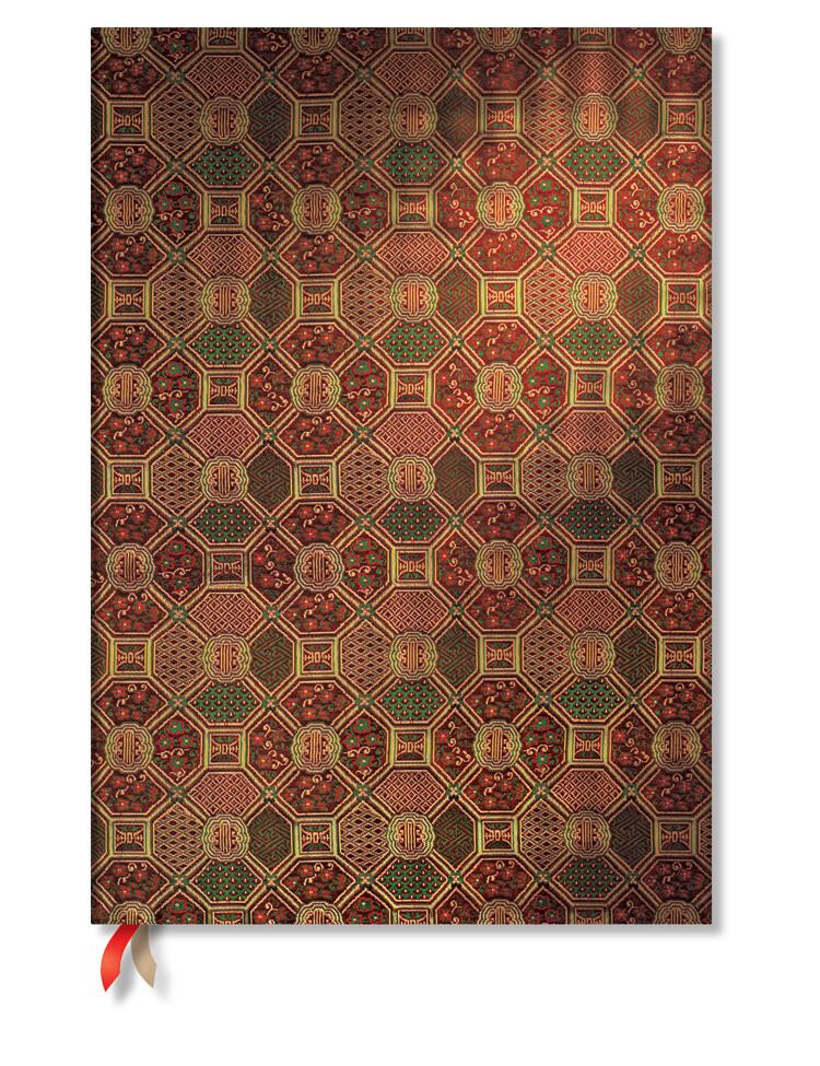 Paperblanks Sacred Tibetan Textiles - Mandala - Midi effen