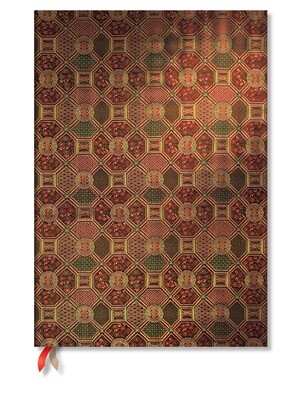 Paperblanks notitieboek Sacred Tibetan Textiles - Mandala - Midi effen