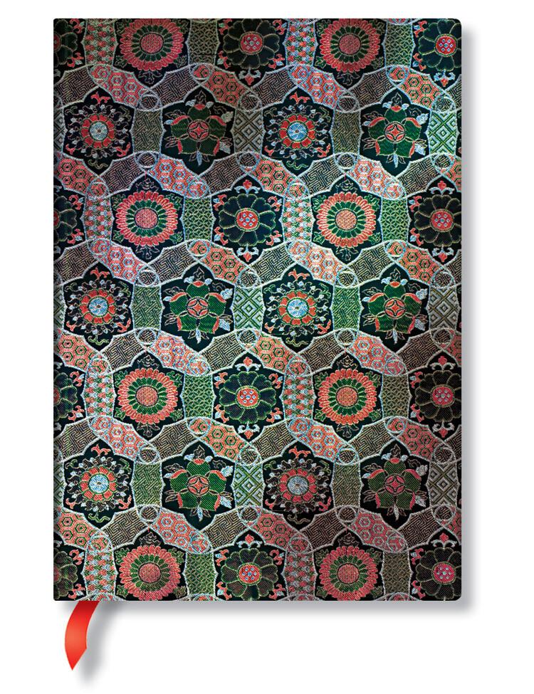 Paperblanks notitieboek Sacred Tibetan Textiles - Chakra - Midi gelijnd