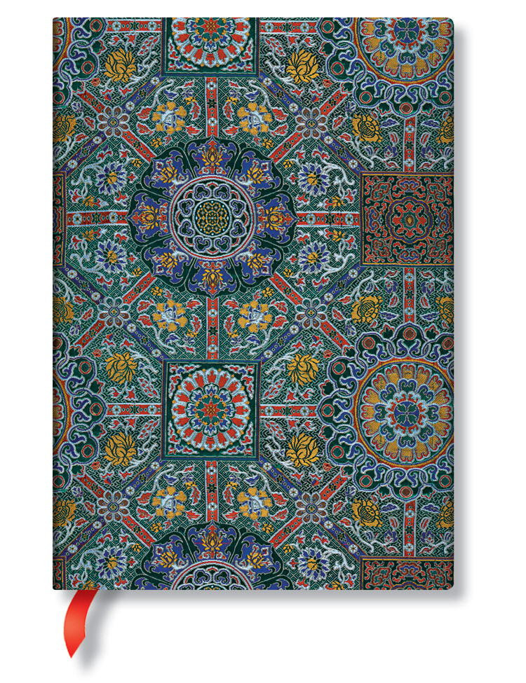 Paperblanks Sacred Tibetan Textiles - Padma - Midi effen