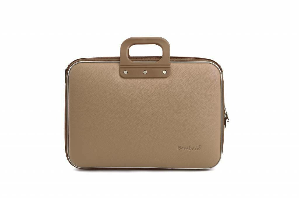 "Bombata Laptoptas Business Classic 15,6""  taupe"
