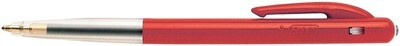 BIC balpen M10 rood - doos van 50