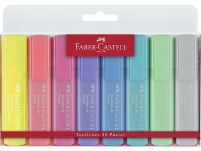 Faber-Castell fluo TEXTLINER 46 PASTEL