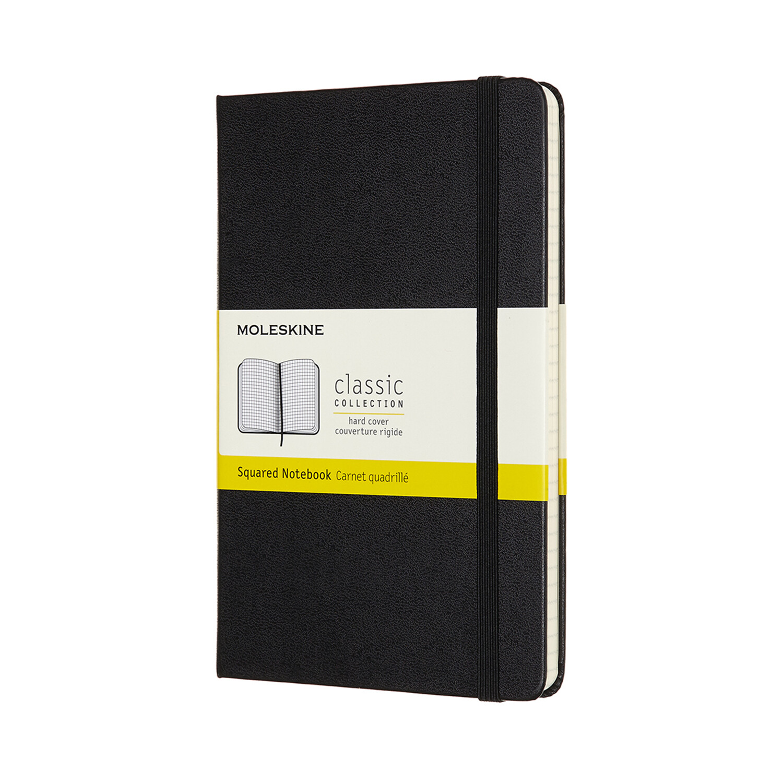 Moleskine notitieboek Medium - diverse liniëringen