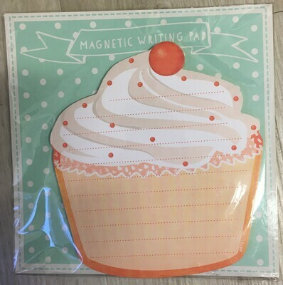Magnetisch notitieblok cake