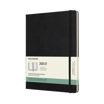 Moleskine Agenda XL weekly notebook zwart 2021