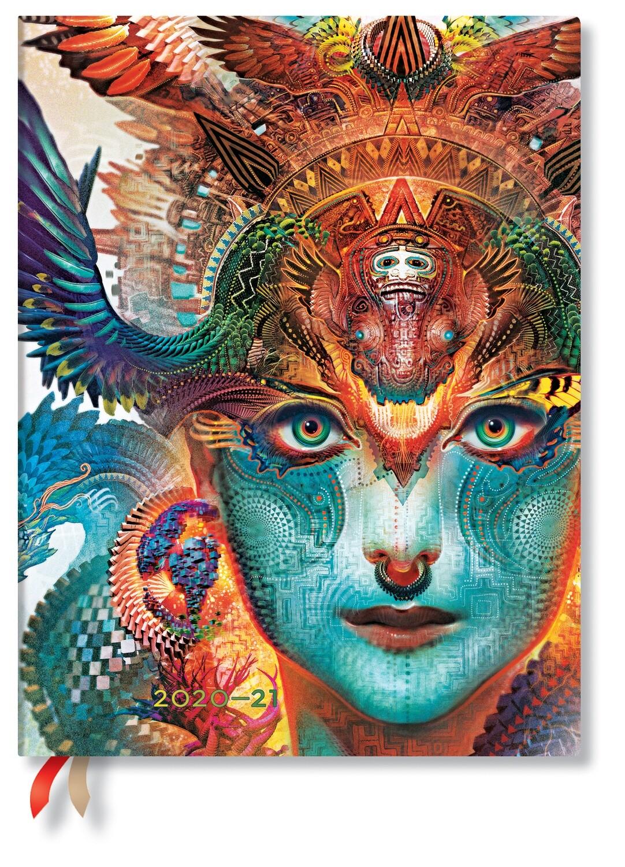 Paperblanks agenda 18 maand 20-21  ULTRA Dharma Dragon
