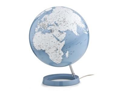 Wereldbol Bright Azuur 30 cm met verlichting