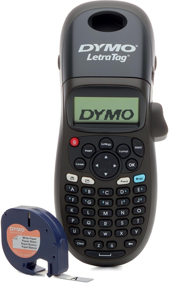 Dymo LETRATAG BLACK EDITION