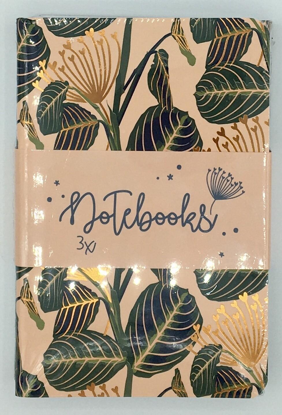 Classy & Sassy set van 3 notebooks gelijnd