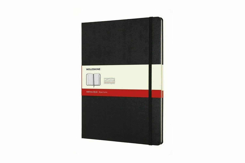 Moleskine adresboek - répertoire  XL