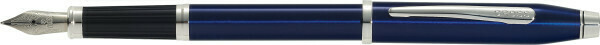 Cross  CENTURY II Transculent laque blue vulpen