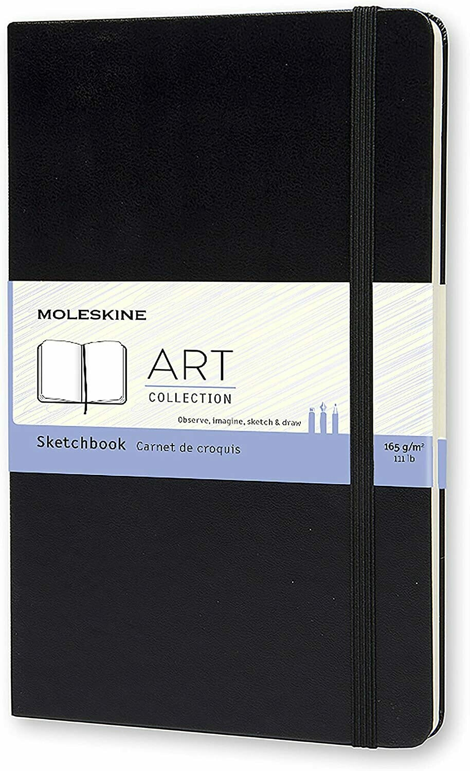 Moleskine SKETCHBOOK large zwart
