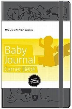 Moleskine BABY   JOURNAL zwart