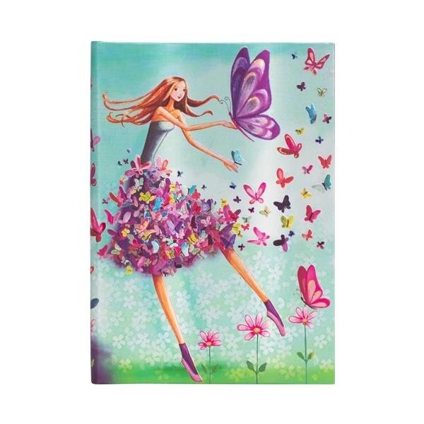 Paperblanks Summer Butterflies midi - gelijnd