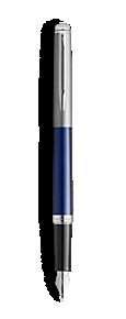 Waterman Vulpen HEMISPHERE sandblasted steel matt  blue CT